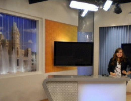 Visita à Rede Globo Minas