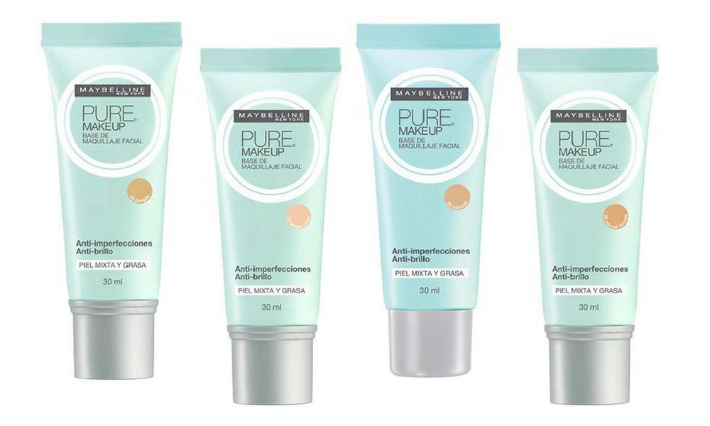 Base Pure makeup da Maybelline