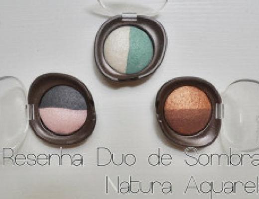 Duo de sombras Natura Aquarela