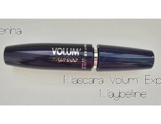 Máscara Volum' Express da Maybelline