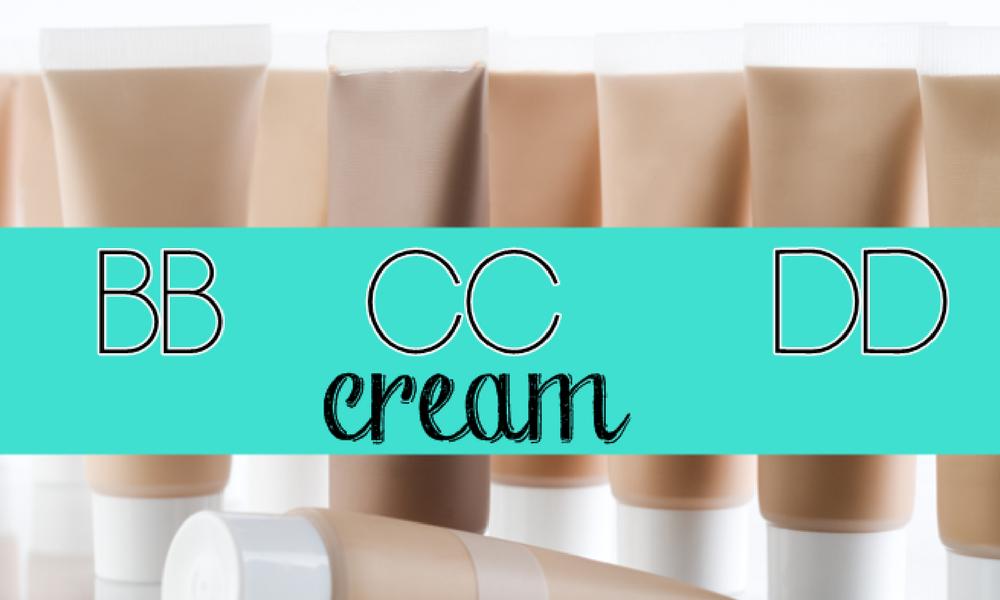 Diferença entre BB cream, CC cream e DD cream