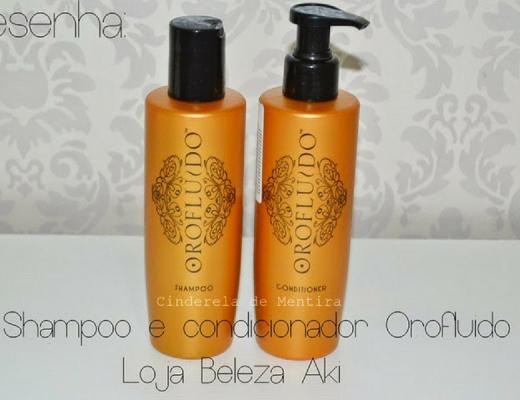 Shampoo e condicionador Orofluido