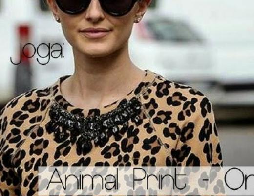 #Sejoga Animal Print - Onça!
