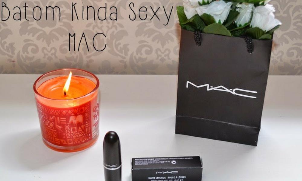Batom Kinda Sexy da MAC