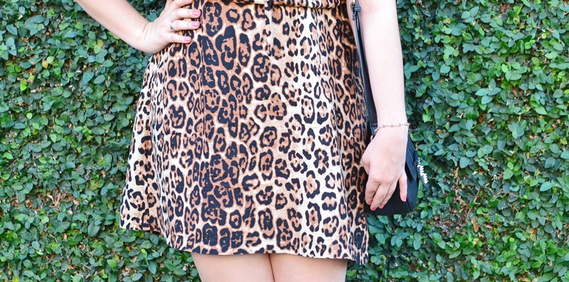 Look do dia usando Animal print