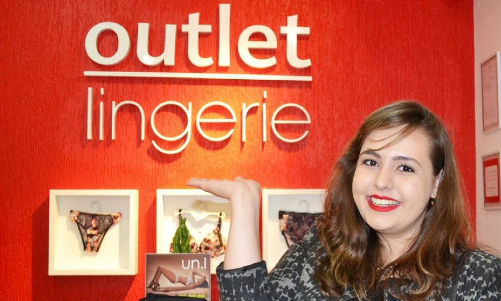 Look do dia para inauguração Outlet Lingerie