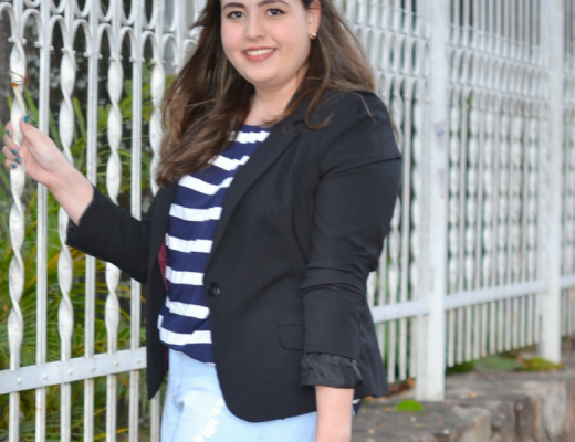 Look plus size Sexta-feira casual