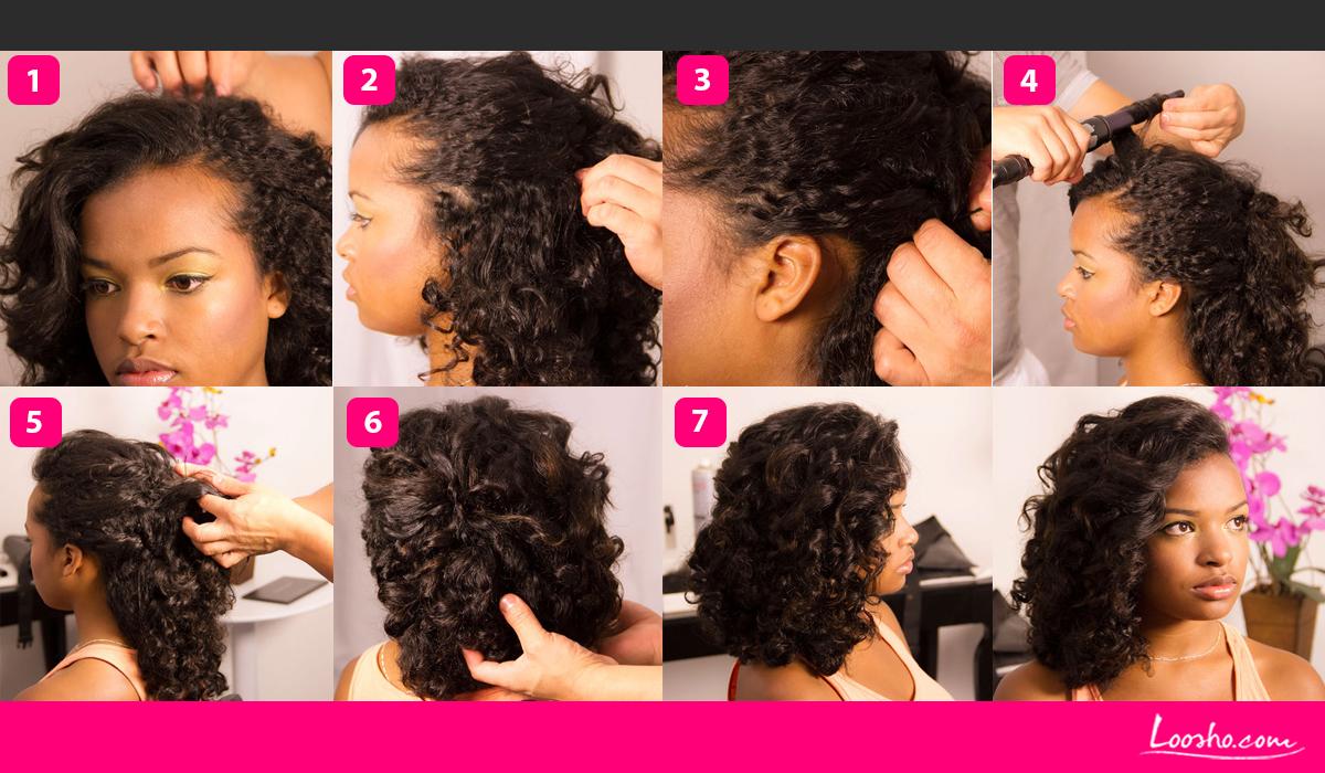 penteados para cabelos cacheados 6
