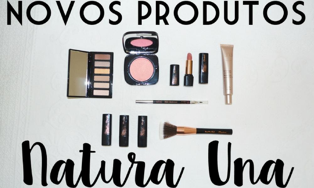 Novos produtos Natura Una