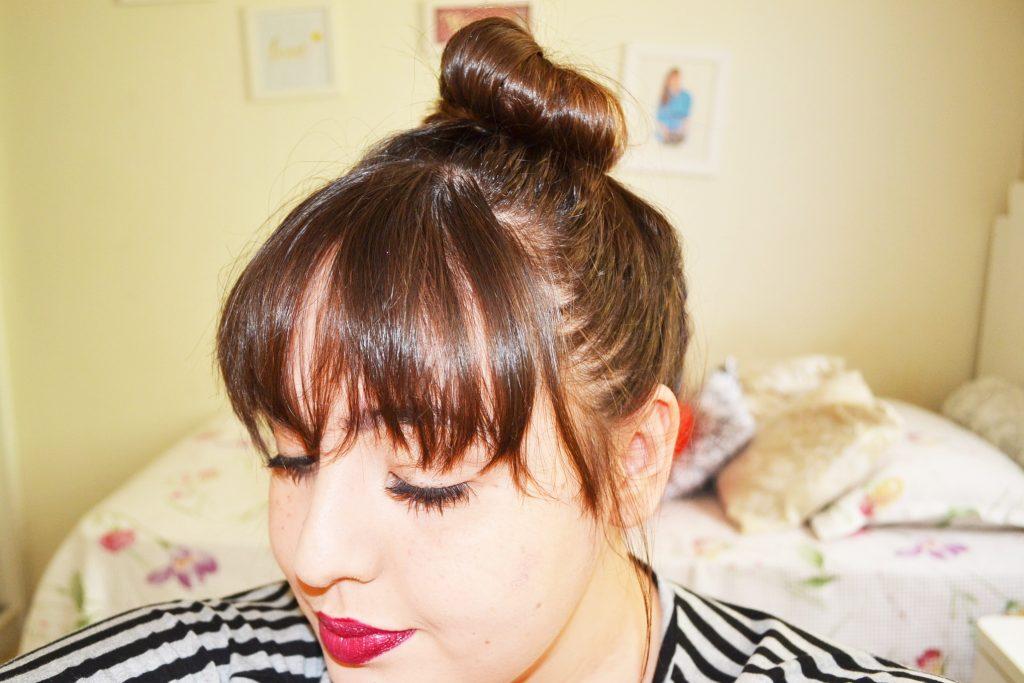 3 Penteados com franja