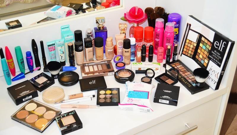 Comprinhas de maquiagem em NY