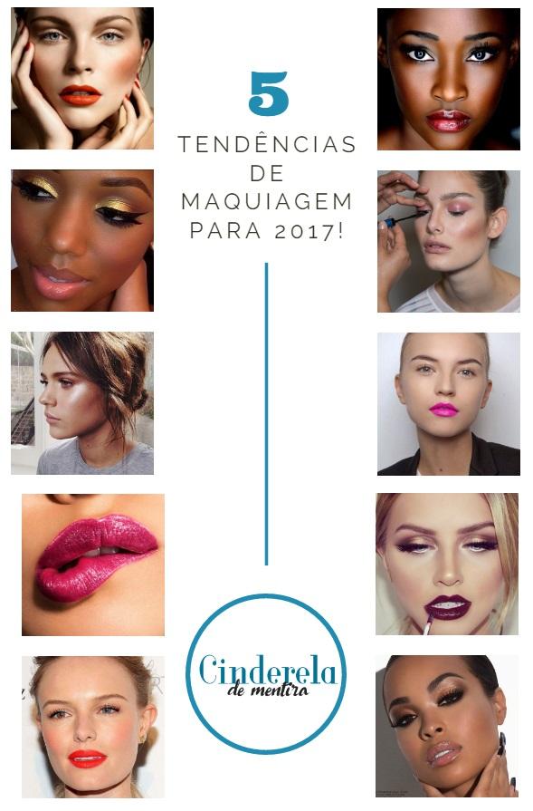 5 Tendências de maquiagem que vão bombar em 2017