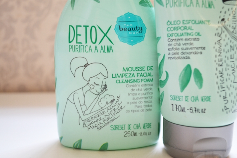 Detox Purifica a Alma The Beauty Box
