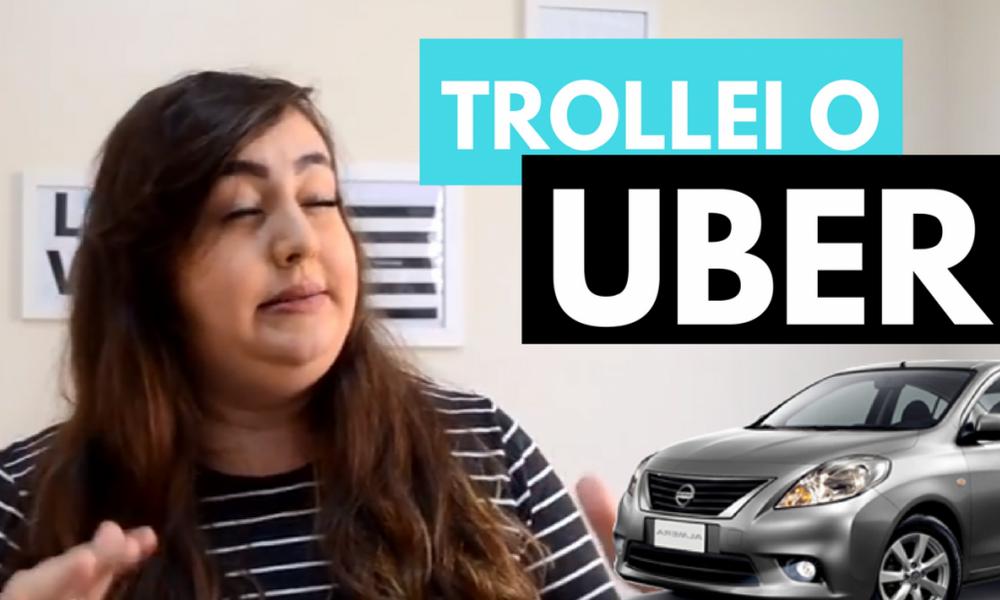 O dia que trollei o uber em BH