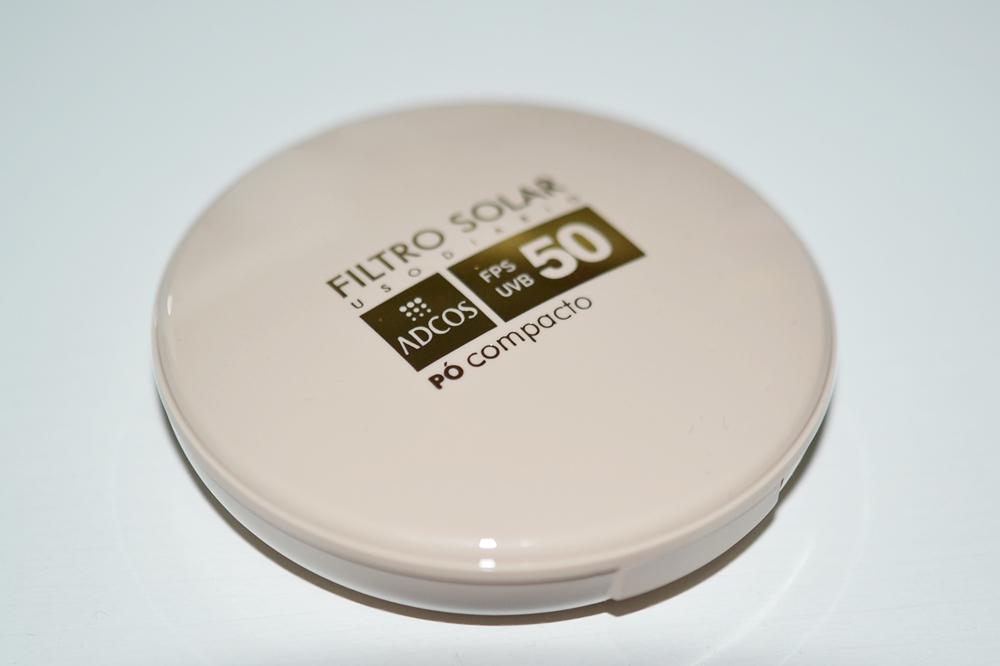 Filtro Solar Tonalizante FPS 50 Pó Compacto