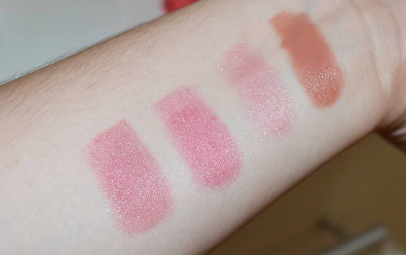 swatch blush Stick Vult