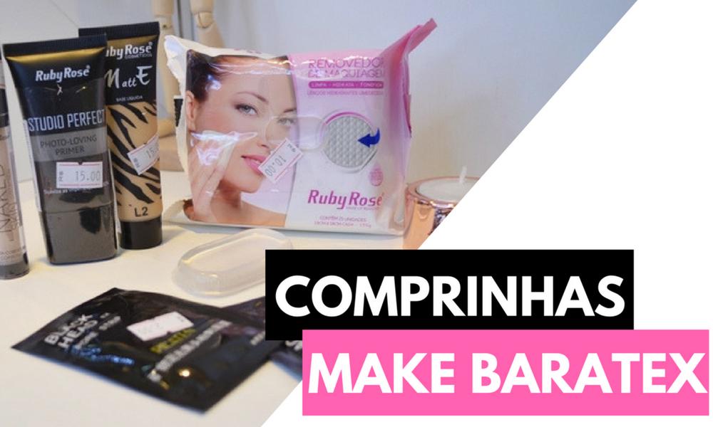 Comprinhas de maquiagem Baratex
