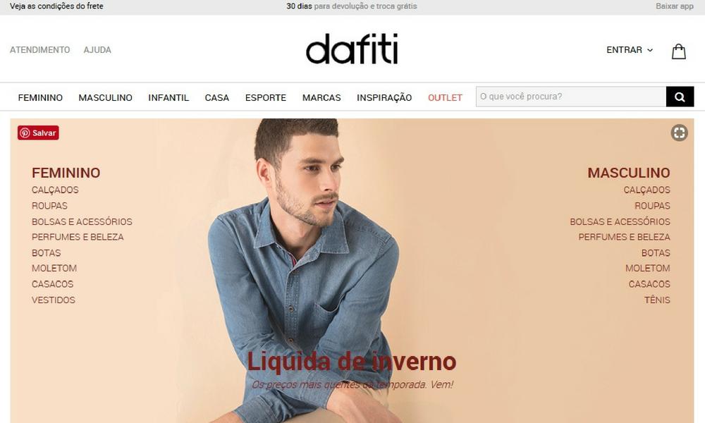 44d40b47eb75 A ideia é encontrar produtos baratex nas lojas online, especialmente as que  enviam em todo país e são confiáveis. Meu primeiro achados Online na Dafiti  ...